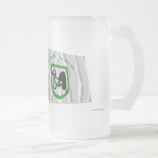 Italy and Marche waving flags Coffee Mugs