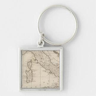 Italy, and Sardinia Keychain