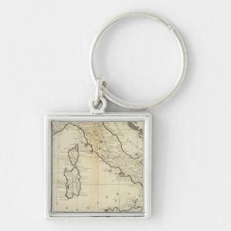 Italy and Sardinia Keychain