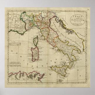 Italy and Sardinia Posters
