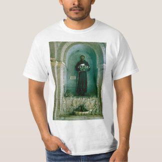 Italy, Assisi, Statue of St Francis of Assisi T-Shirt