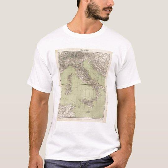 Italy Atlas Map T-Shirt