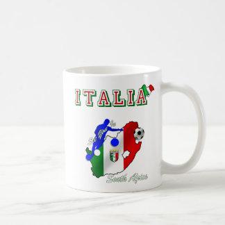 Italy Azzurri in South Africa soccer fans gear Coffee Mug