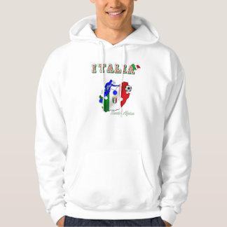 Italy Azzurri in South Africa soccer fans gear Hoodie