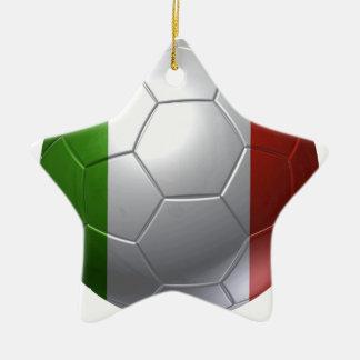 Italy ball ceramic ornament