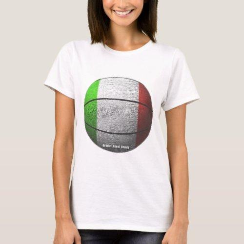 Italy Basketball T_Shirt
