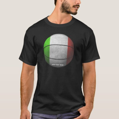 Italy Basketball T_Shirt