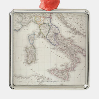 Italy Before Unification Metal Ornament