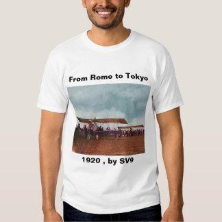 Italy_Biplane _Antique (8) T-shirt
