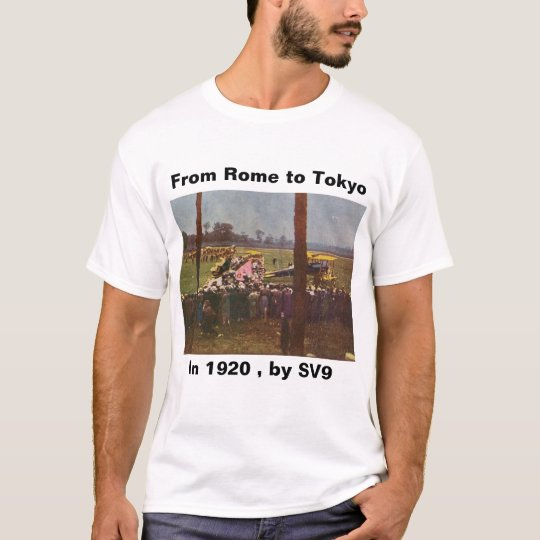 Italy_Biplane _Antique (8) T-Shirt