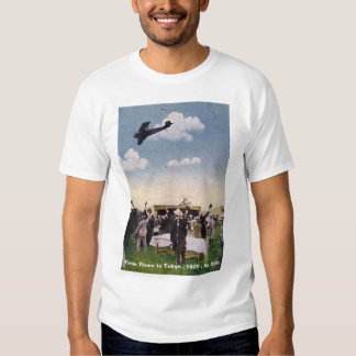 Italy_Biplane _Antique (8) T Shirt