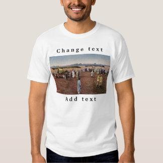Italy_Biplane _Antique (8) Tee Shirt