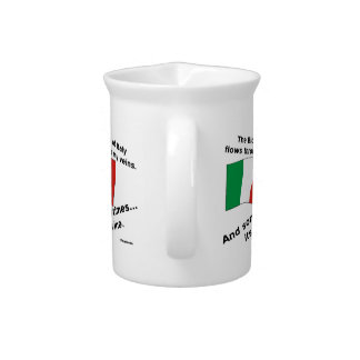 Italy Blood Wine Drink Pitchers