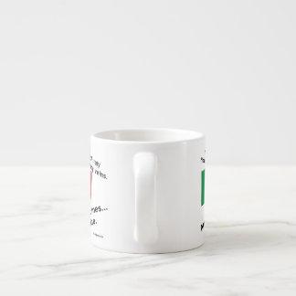 Italy Blood Wine Espresso Cup