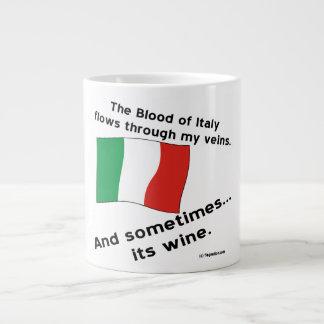 Italy Blood Wine Large Coffee Mug