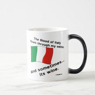 Italy Blood Wine Magic Mug