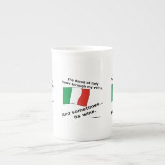 Italy Blood Wine Tea Cup