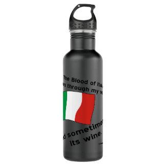 Italy Blood Wine Water Bottle