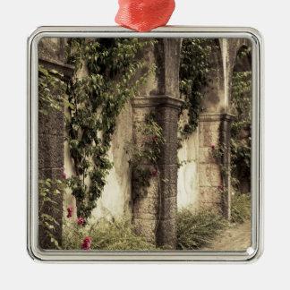 Italy, Brescia Province, Gardone Riviera. Garden Metal Ornament