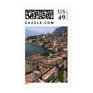 Italy, Brescia Province, Limone sul Garda. Town Postage Stamp