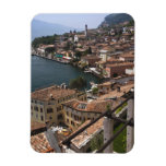 Italy, Brescia Province, Limone sul Garda. Town Vinyl Magnet