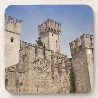 Italy, Brescia Province, Sirmione. Castello 2 Beverage Coaster
