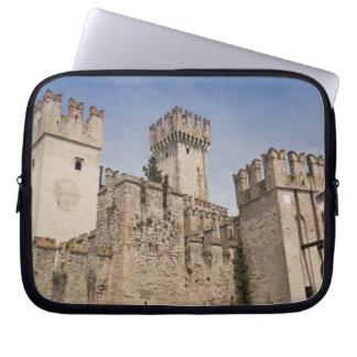 Italy, Brescia Province, Sirmione. Castello 2 Computer Sleeve