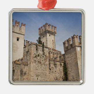 Italy, Brescia Province, Sirmione. Castello 2 Metal Ornament