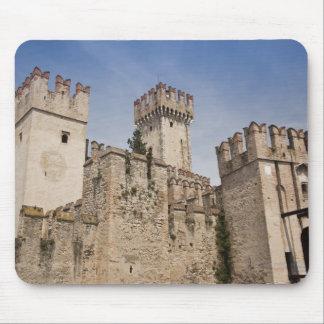 Italy, Brescia Province, Sirmione. Castello 2 Mouse Pad