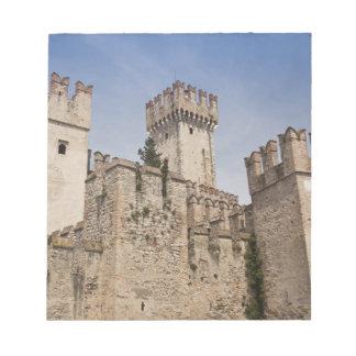 Italy, Brescia Province, Sirmione. Castello 2 Notepad