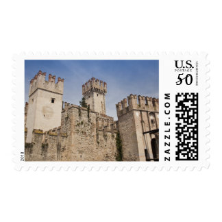 Italy, Brescia Province, Sirmione. Castello 2 Postage