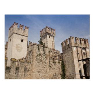 Italy, Brescia Province, Sirmione. Castello 2 Postcard