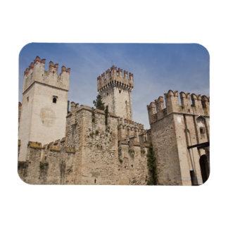 Italy, Brescia Province, Sirmione. Castello 2 Rectangular Photo Magnet