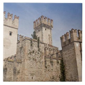 Italy, Brescia Province, Sirmione. Castello 2 Tile