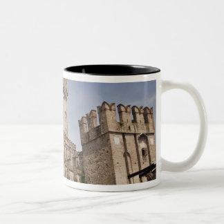 Italy, Brescia Province, Sirmione. Castello 2 Two-Tone Coffee Mug