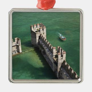 Italy, Brescia Province, Sirmione. Castello 3 Metal Ornament