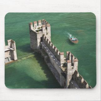 Italy, Brescia Province, Sirmione. Castello 3 Mouse Pad