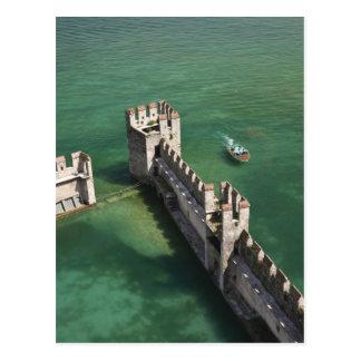 Italy, Brescia Province, Sirmione. Castello 3 Postcard