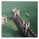 Italy, Brescia Province, Sirmione. Castello 3 Tile