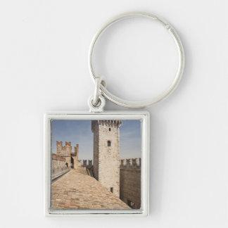 Italy, Brescia Province, Sirmione. Castello 4 Keychain