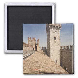 Italy, Brescia Province, Sirmione. Castello 4 Magnet