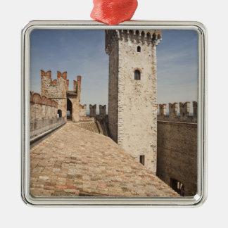 Italy, Brescia Province, Sirmione. Castello 4 Metal Ornament