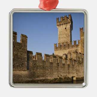 Italy, Brescia Province, Sirmione. Castello Metal Ornament