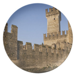Italy, Brescia Province, Sirmione. Castello Plate