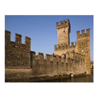 Italy, Brescia Province, Sirmione. Castello Postcard