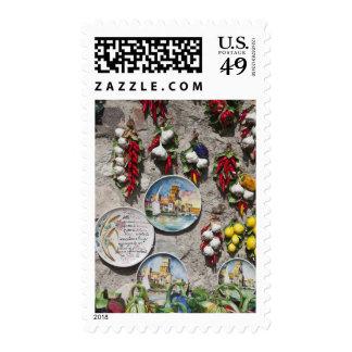 Italy, Brescia Province, Sirmione. Souvenirs. Postage