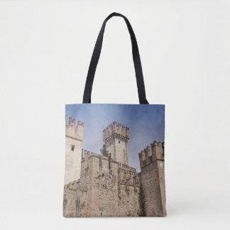 Italy, Brescia Province, Sirmione Tote Bag