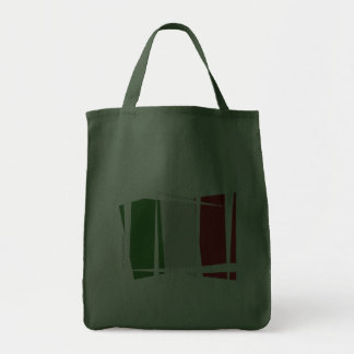 Italy Brush Flag Canvas Bags
