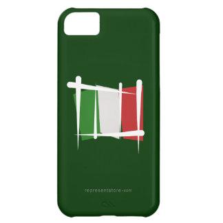 Italy Brush Flag iPhone 5C Cases