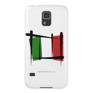 Italy Brush Flag Galaxy S5 Cases